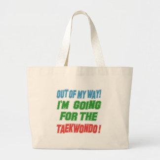 Voy para el Taekwondo Bolsas De Mano