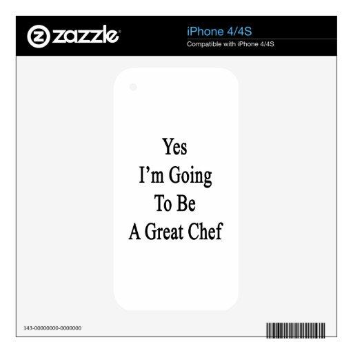 Voy sí a ser gran cocinero skins para iPhone 4