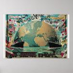 Voyage autour du monde posters