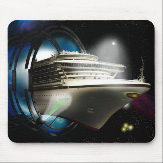 Voyage Into The Future - Designer Mousepad
