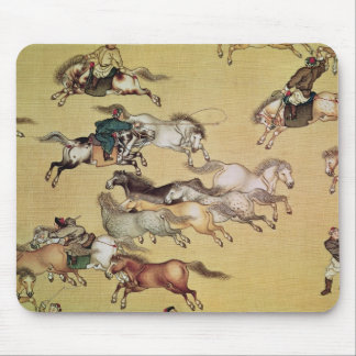 Voyage of Emperor Qianlong  detail from a Mouse Pad