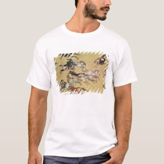 Voyage of Emperor Qianlong  detail from a T-Shirt