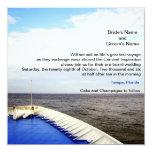 Voyage of Love   Cruise Ship/Destination Wedding Personalized Invite