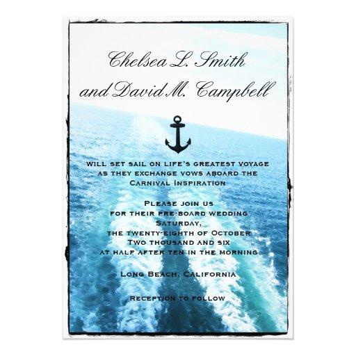 "Voyage of Love|Cruise Ship/Destination Wedding 5"" X 7 ..."