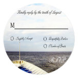 Voyage of Love Cruiseship Destination Wedding RSVP Card