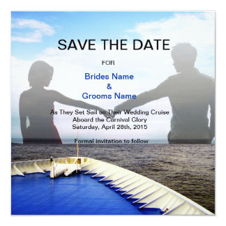 Voyage of Love l Cruise Ship/Destination Wedding Invitation