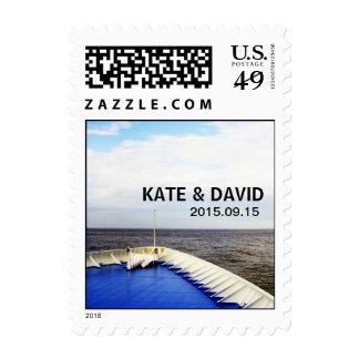Voyage of Love l Cruise Ship/Destination Wedding Stamp