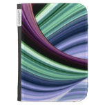 Voyage Through the Curves Kindle Folio Case