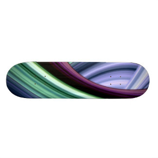 Voyage Through the Curves Skateboard