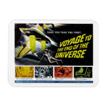 Voyage to the End of the Universe Rectangle Magnets