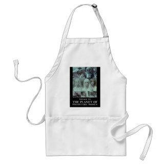 Voyage to the Planet of Prehistoric Women Gear Adult Apron