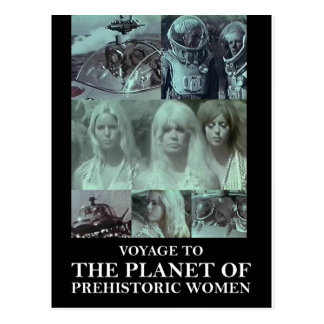 Voyage to the Planet of Prehistoric Women Gear Postcard