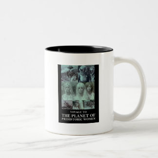 Voyage to the Planet of Prehistoric Women Gear Two-Tone Coffee Mug