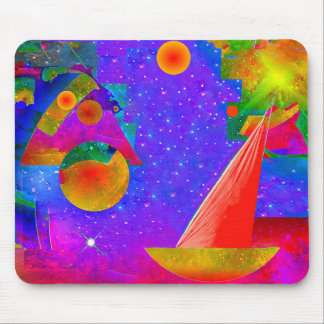 Voyage to the Stars Mouse Pad