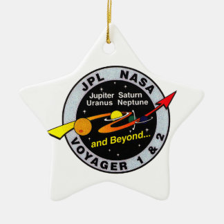 Voyager 1 & 2 ceramic ornament