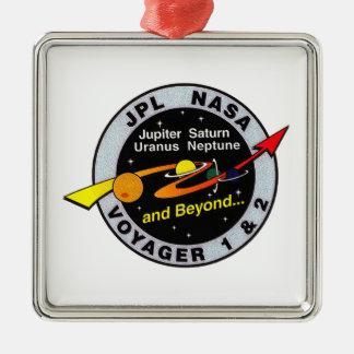 Voyager 1 & 2 metal ornament