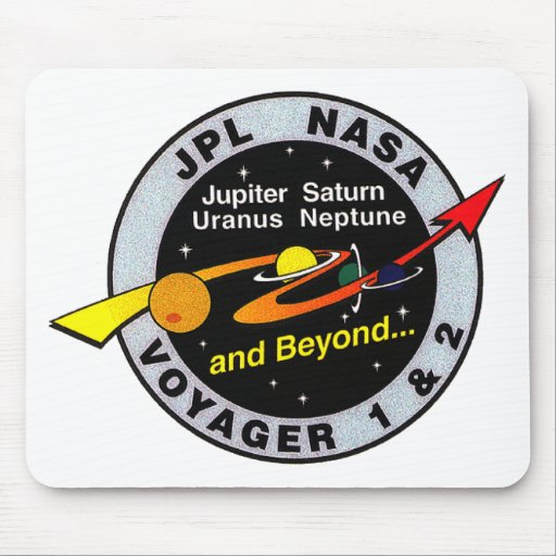 Voyager 1 & 2 mouse pads