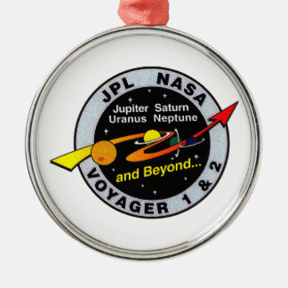 Voyager 1 2 christmas ornament