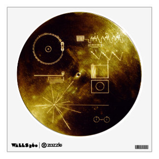 Voyager 1 & 2 wall sticker