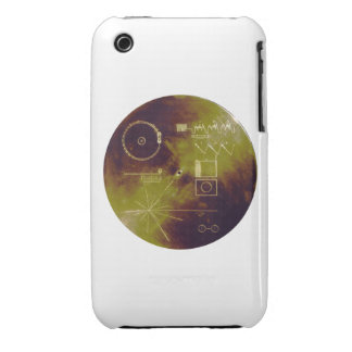 Voyager 1 and 2 Golden Record Sounds of Earth Case-Mate iPhone 3 Case