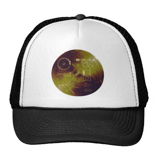 Voyager 1 and 2 Golden Record Sounds of Earth Trucker Hats