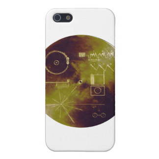 Voyager 1 and 2 Golden Record Sounds of Earth iPhone 5 Case
