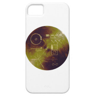 Voyager 1 and 2 Golden Record Sounds of Earth iPhone SE/5/5s Case