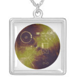 Voyager 1 and 2 Golden Record Sounds of Earth Custom Jewelry