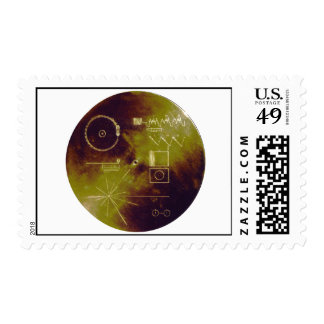 Voyager 1 and 2 Golden Record Sounds of Earth Postage