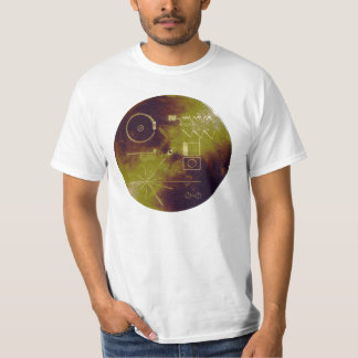 Voyager 1 and 2 Golden Record Sounds of Earth Shirts