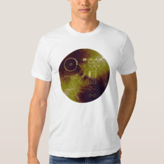 Voyager 1 and 2 Golden Record Sounds of Earth Tee Shirt