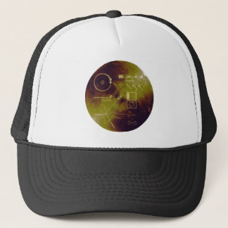 Voyager 1 and 2 Golden Record Sounds of Earth Trucker Hat