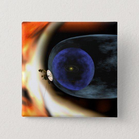 Voyager 2 spacecraft button