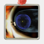 Voyager 2 spacecraft christmas tree ornament
