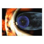 Voyager 2 spacecraft photo print