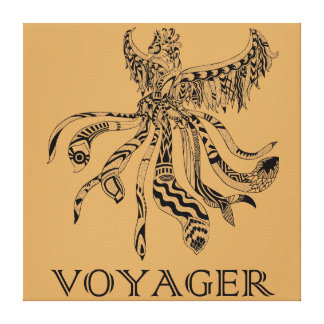 Voyager Canvas Gloss Print