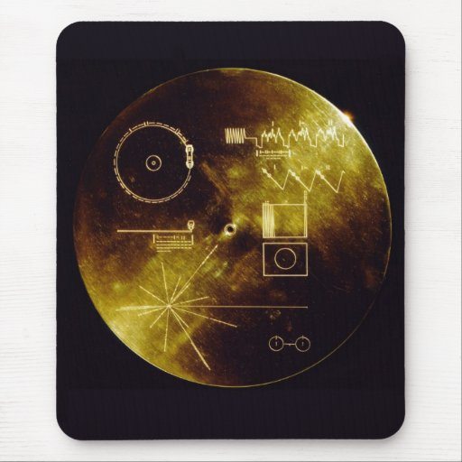 Voyager Golden Record Mousepad