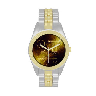 Voyager Golden Record Wrist Watch