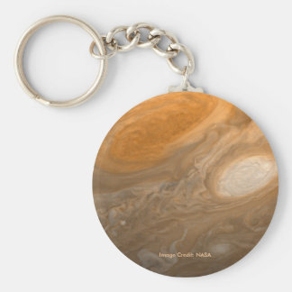 Voyager I Views The Great Red Spot Keychain