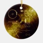 Voyager Message Ceramic Ornament