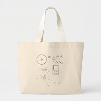 Voyager Message Large Tote Bag