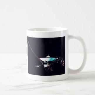VOYAGER  SPACECRAFT CLASSIC WHITE COFFEE MUG