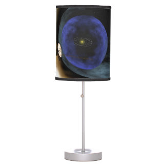 Voyager Squashes View of Solar System Table Lamp