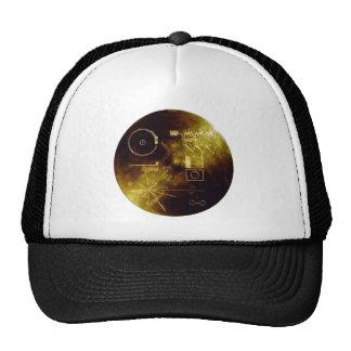Voyager's Golden Record Trucker Hat