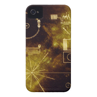 Voyager's Golden Record iPhone 4 Cover