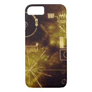Voyager's Golden Record iPhone 7 Case