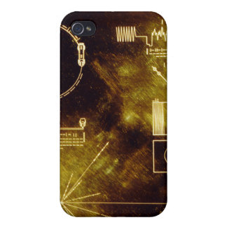 Voyager's Golden Record iPhone 4 Cases