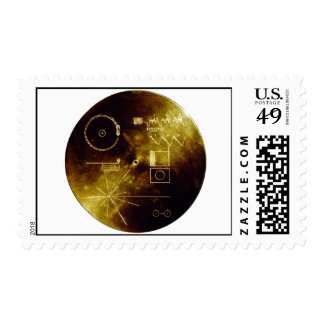 Voyager's Golden Record Stamp