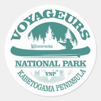 Voyageurs National Park Classic Round Sticker