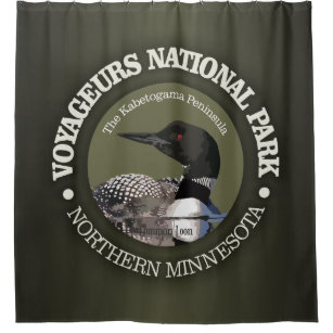Voyageurs National Park Loon Shower Curtain